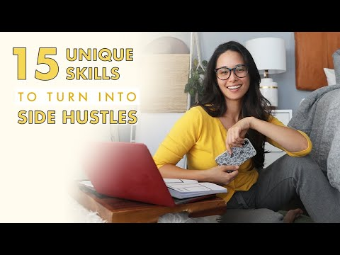 15 *Unique* Skills To Turn Into Side Hustles | Aja Dang