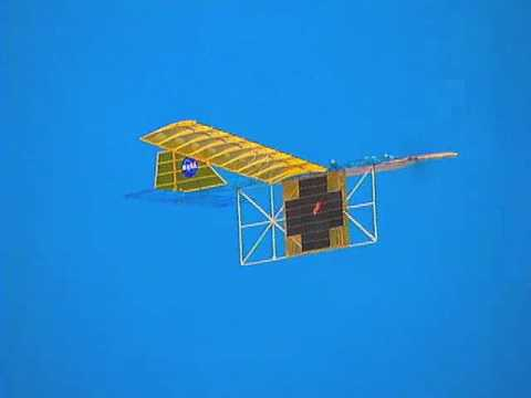 Infrared Laser Beaming to Power a Model Aircraft