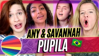 Baixar REACT Now United - Any x Savannah - 'Pupila' (Reação e Comentários) Acorda, Berenice!