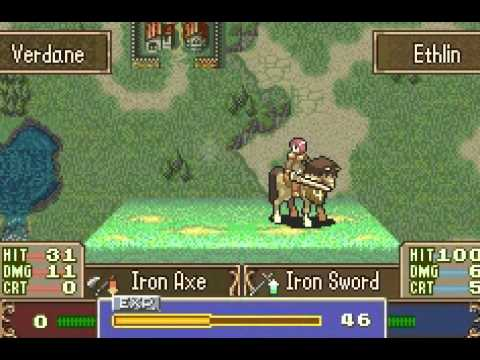 Fire Emblem 4: Advance {GBA FE7 Hack} - To Those Fallen In The Line Of FE  History