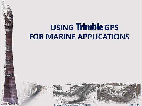 Bathymetric Surveys With #Trimble #GPS