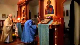 Кадри от манастира св. Йоан Шанхайски и Сан-Франциски, Калифорния