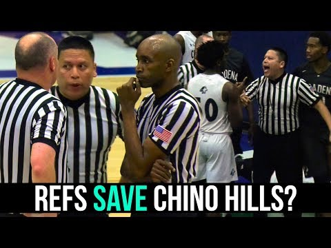 Did Refs SAVE Chino Hills From Playoff Elimination? | FOUL CHECK #1: CHINO HILLS VS PASADENA