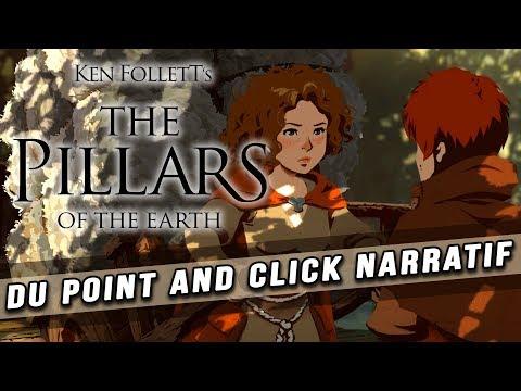 THE PILLARS OF THE EARTH : un point and click narratif tiré du roman de KEN FOLLETT