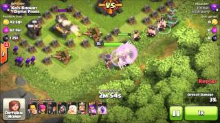 Clash of Clans - Townhall 9 Pushing to CHAMPS!