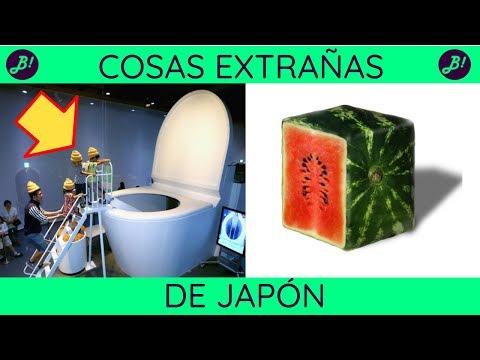 Cosas extrañas de Japón (2018): Top 17 de lo más raro de Japón
