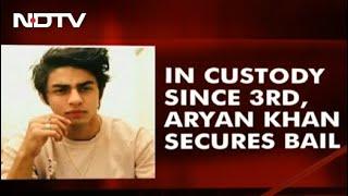 Aryan Khan Gets Bail After 3 Weeks In Jail