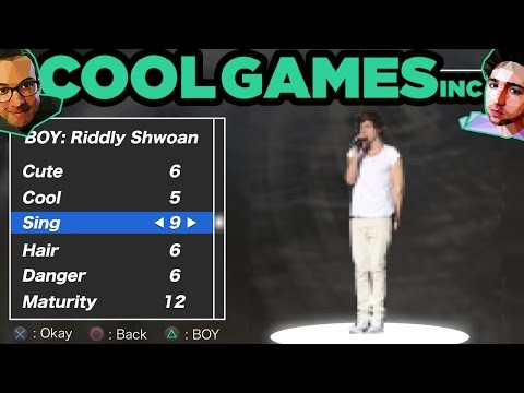 Griffin and Nick's Boy Band Simulator — CoolGames Inc