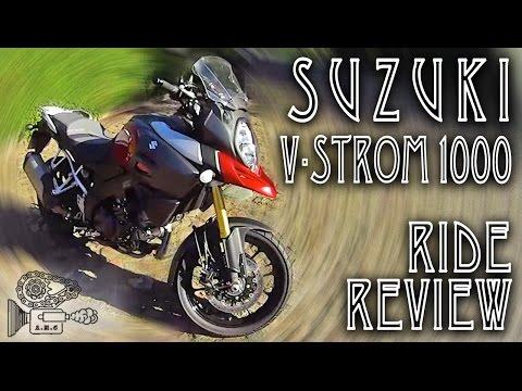 Suzuki V-Strom 1000 Ride Review (2016)