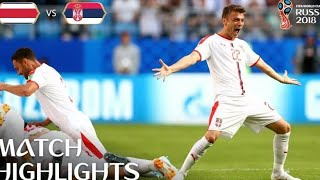 Costa Rica Vs Serbia 0-1 ⚽All Goals & Highlights - FIFA World Cup 17/06/2018 HD