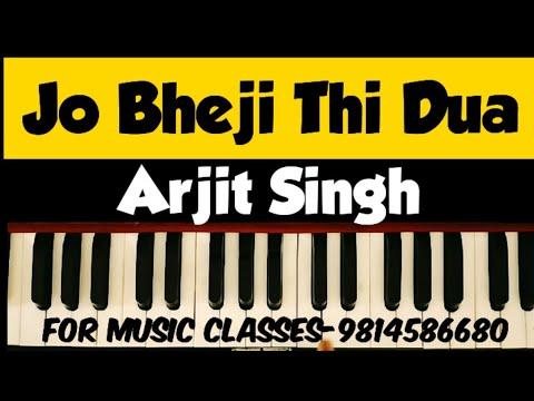 Jo bheji thi dua on harmonium | Arjit singh & Nandini Srikar