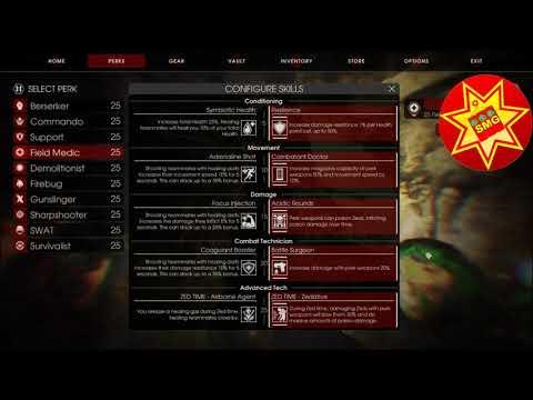 Killing Floor 2 Battle Medic Build Kill N Heal Skill Build Youtube