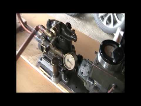 "WW2 agent radio portable steam generator, Alco ""Firefly"""