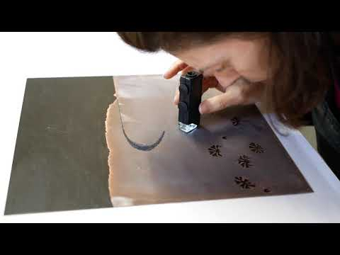 An Etching Story: Making And Printing A Multi-colour Copper Plate Etching