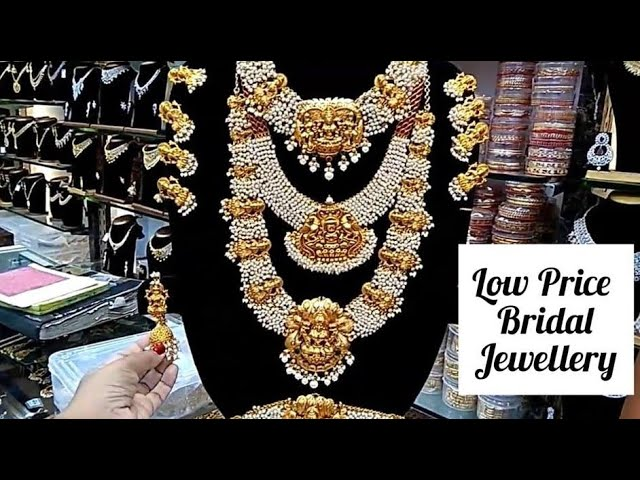 Bridal/Wedding Jewellery Collections |South Indian Wedding Jewellery Designs in Chennai