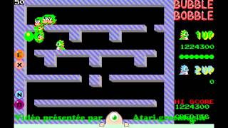 Bubble Bobble - Niveau 1 à 100 - Atari ST [Longplay]