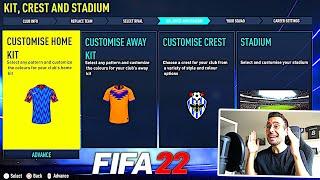 ICH ERSTELLE ERSTEN EIGENEN VEREIN IM FIFA 22 KARRIEREMODUS !!! 🆕🔥 FIFA 22 Beta Gameplay