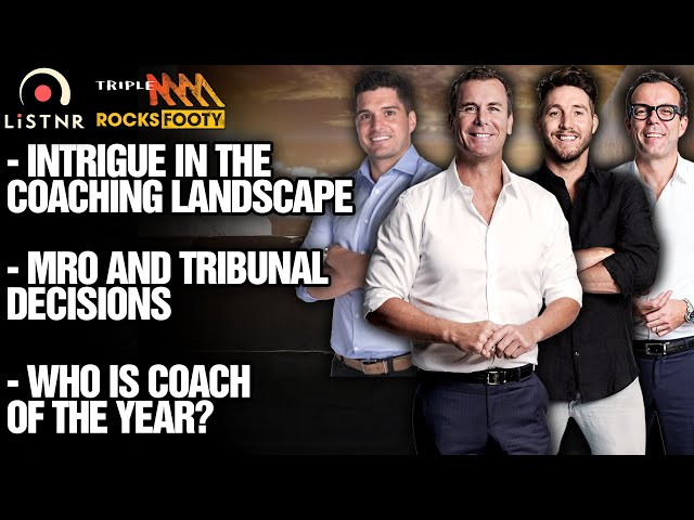 Midweek Rub | Coaching Landscape, MRO Circus, Who's Coach Of The Year? | Triple M Footy