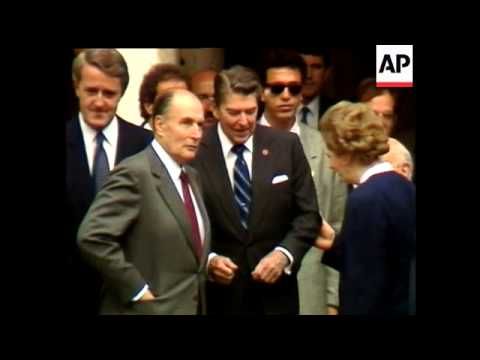 FRANCOIS MITTERAND - FRENCH PRESIDENT 1981 - 1995