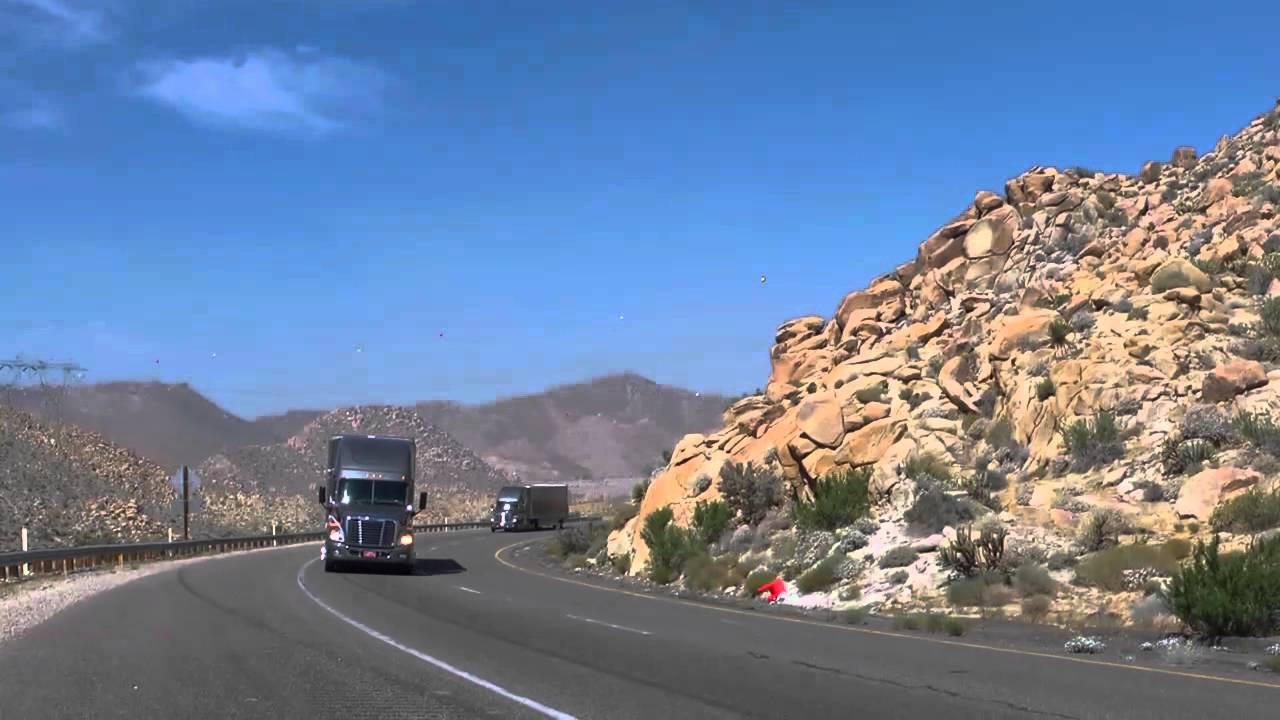 Freightliner Cascadia Evolution of Efficiency Cross Country Tour