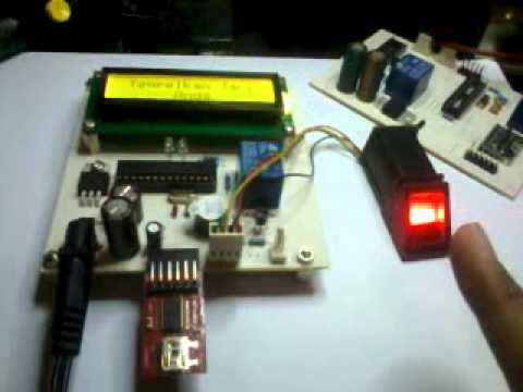 Fpm10 Arduino Fingerprint Doorlock Youtube