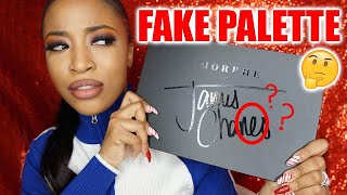 I BOUGHT A FAKE JAMES CHARLES PALETTE ?!
