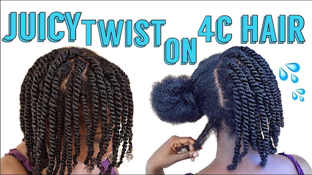 Easiest Mini Twist On 4c Natural Hair Low Maintenance