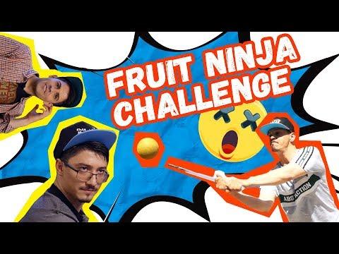 🍉😂Fruit Ninja Challenge с ТИПИЧНО | Studio Queen's #2 💥🍊