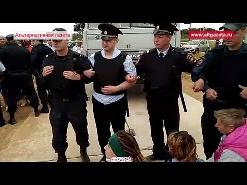 Воробьевские фашисты растолкали и задержали людей