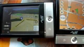 mio p560 nav n go igo8 vs mio map v3 hd hq