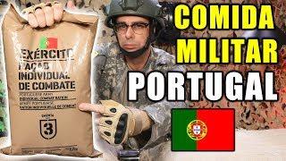 Probando COMIDA DE SUPERVIVENCIA MILITAR de PORTUGAL