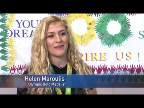 Cashell Elementary School Welcomes Olympic Champion Helen Maroulis Home