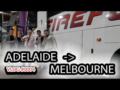 Adelaide to Melbourne REAL Quick | FIREFLY BUS | VLOG #0004