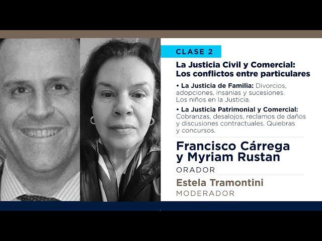 La Justicia Civil y Comercial: Los conflictos entre particulares | #HablemosDeJusticia - Clase 2