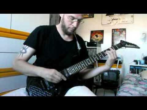 ALICE COOPER - MAN WITH THE GOLDEN GUN - guitar cover