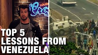 TOP 5: Lessons from Venezuela's Socialism! | Louder with Crowder