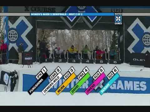 Winter X Games 12 - Womens Semi's, heat 2