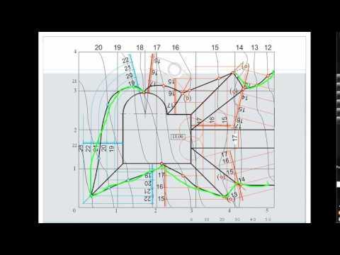 [Инженерная графика] Граница земляных работ