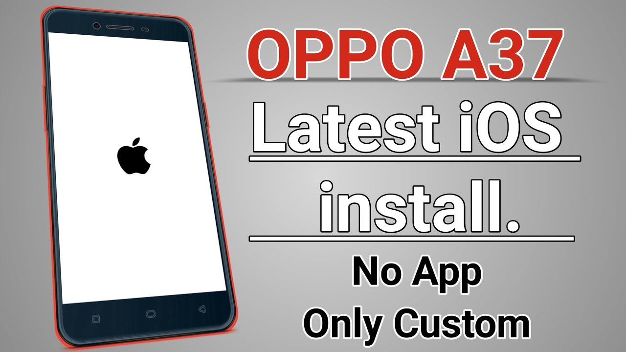 Oppo A37 Custom ROM Videos - Waoweo