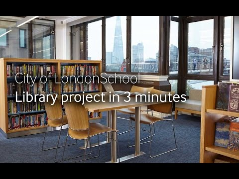 City of London School: The library project in 3 minutes