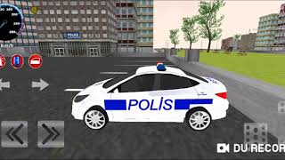 real police running car game
