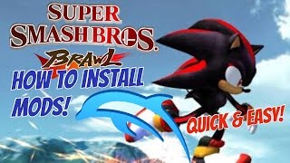 How To Install Mods for Smash Bros Brawl on Dolphin Emulator [QUICK & EASY]