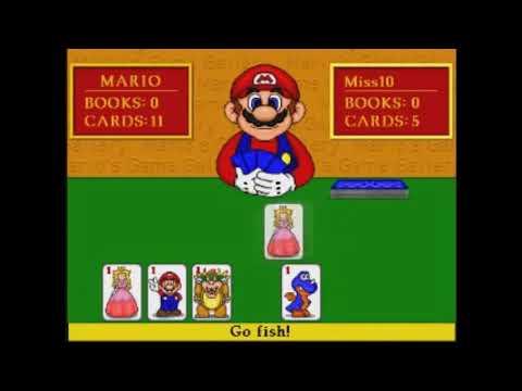 [OLD][YTP] Mario cheats in Go Fish