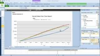 earned value analysis in ms project