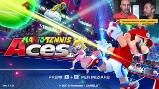 Mario Tennis Aces Gameplay ITA Walkthrough Giocato in Italiano