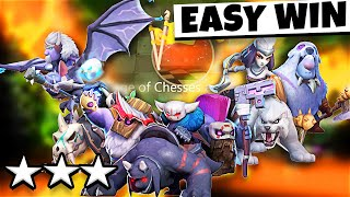 WOW!!! KNIGHT IS INSANE!! AUTO CHESS MOBILE