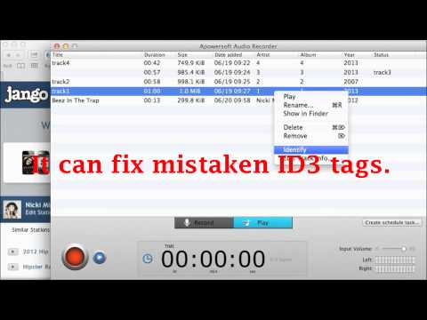 How to edit ID3 tags for Mac?