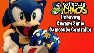 Custom Sonic Gamecube Control Unboxing from Controller Chaos!