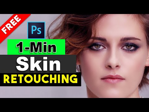 How To Create 1-Click Skin Retouching Actions In Photoshop