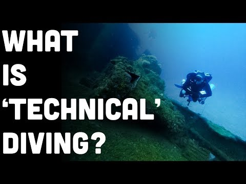 What Is Technical Diving? A Good Introduction To The Discipline. Part 1 Of 2